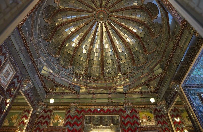 Udaipur City Palace - Kanch Burj - India stock images