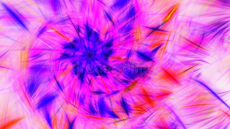 udar farby Jaskrawi iskrzaści fajerwerki ilustracja wektor