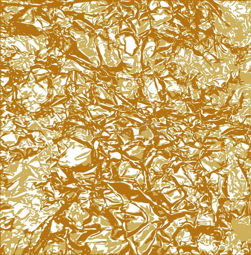 udaremnia złocistą teksturę ilustracji