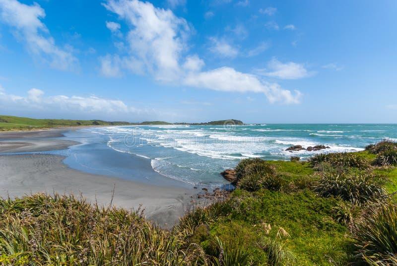 Udde Foulwind, Nya Zeeland fotografering för bildbyråer