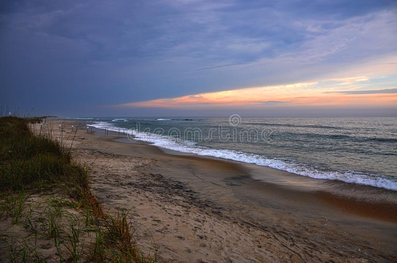 Udde Hatteras, North Carolina, USA royaltyfria bilder