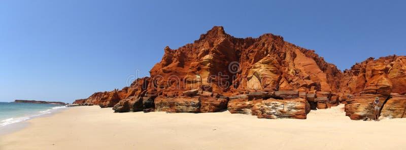 Udde Leveque nära Broome, västra Australien royaltyfria foton