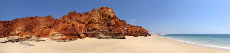 Udde Leveque nära Broome, västra Australien arkivfoton