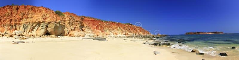 Udde Leveque nära Broome, västra Australien arkivbilder