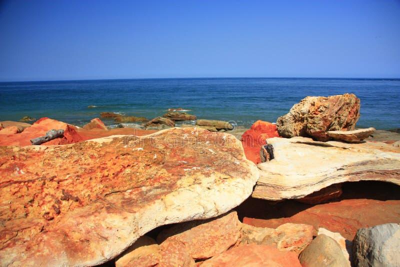 Udde Leveque, västra Australien royaltyfri fotografi