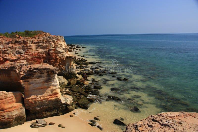 Udde Leveque, västra Australien royaltyfri bild