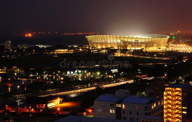 UddTownGreenpoint stadion fotografering för bildbyråer