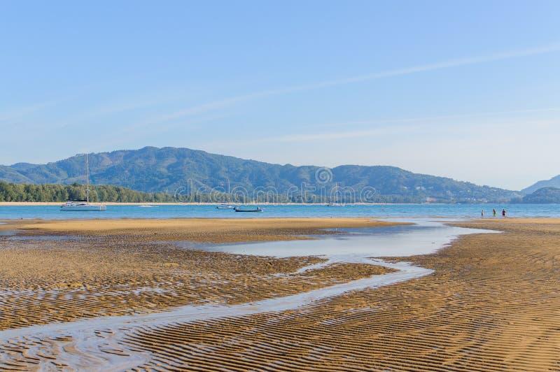 Uderzenia Tao plaża na Phuket wyspie, Tajlandia zdjęcie stock