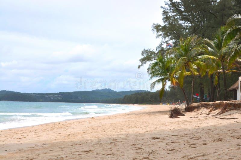 Uderzenia Tao plaża przy Phuket Tajlandia zdjęcia stock