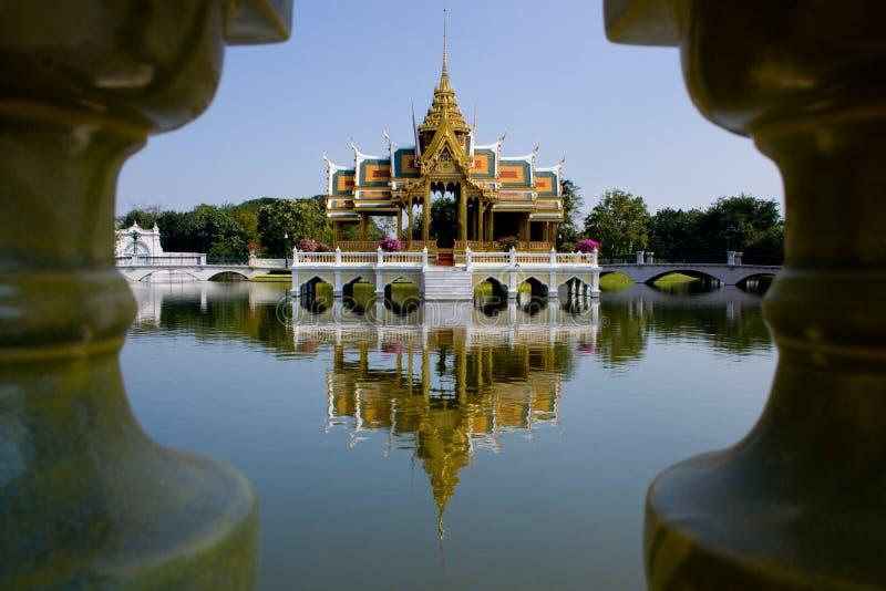 Uderzenie w pałac, Ayuthaya obrazy royalty free