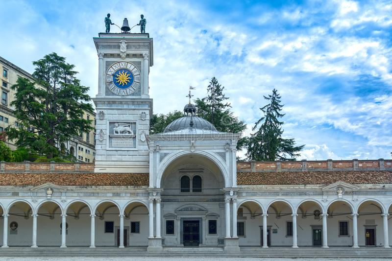 Udine, Friuli, Ιταλία στοκ φωτογραφία με δικαίωμα ελεύθερης χρήσης