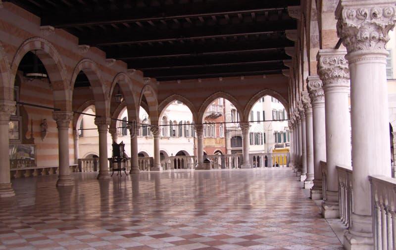 Udine - l'Italia, Loggia immagine stock