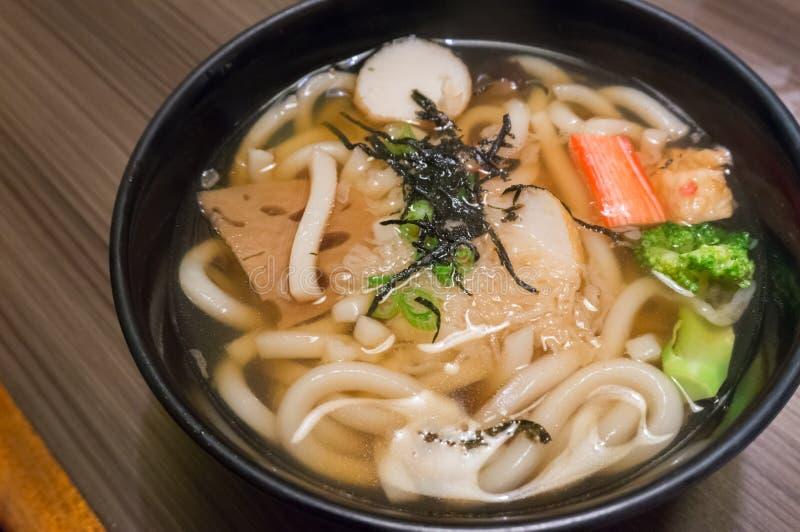 Udon Noodle Soup arkivbilder