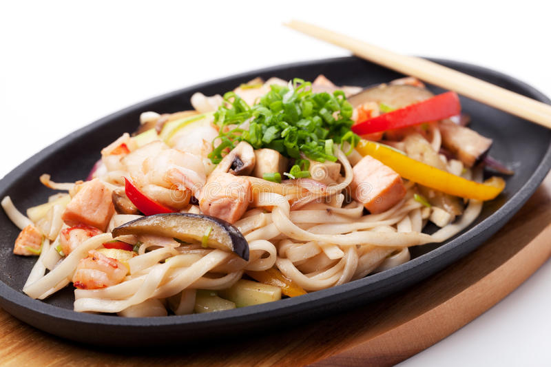 Udon with Seafood