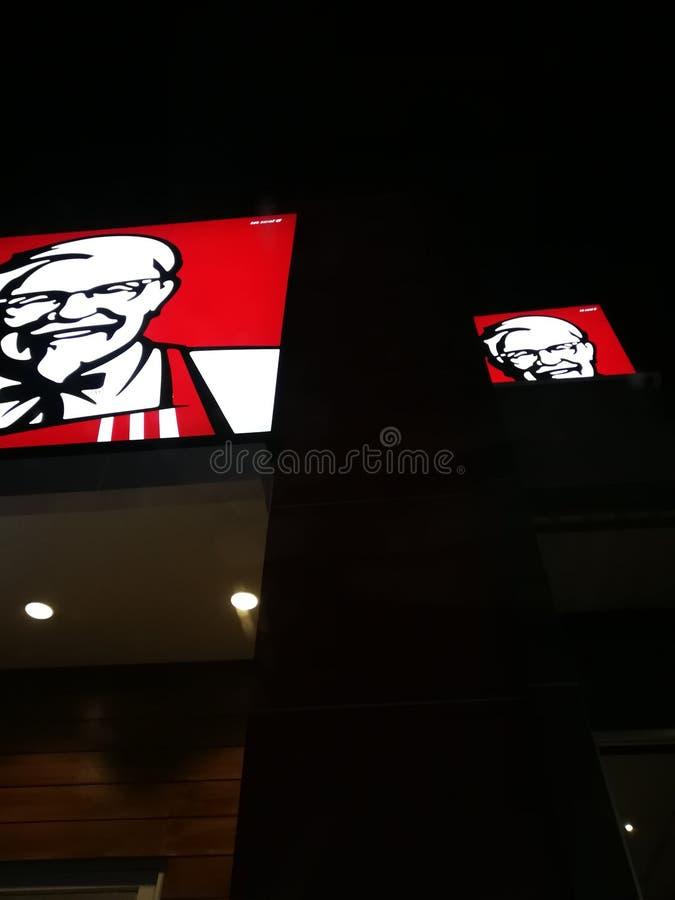 Udon Thani, Tailandia 24 ore KFC fotografia stock
