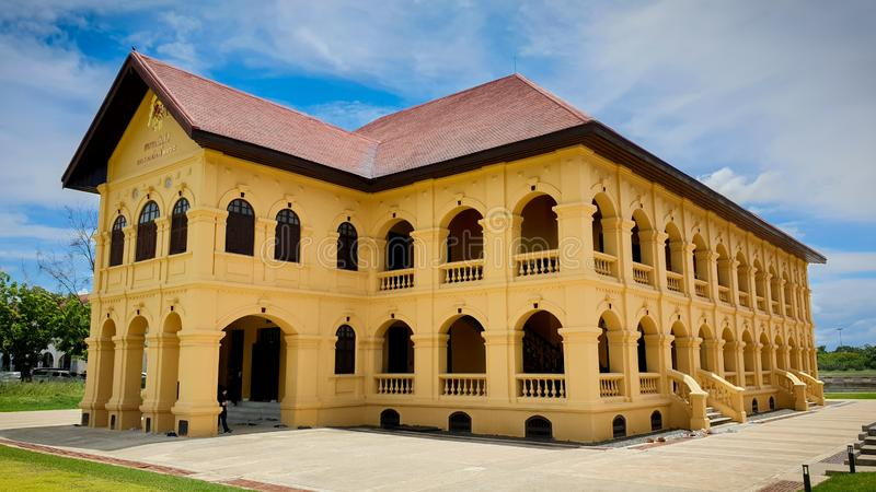 Udonthani Museum in Udonthani Province, Thailand stock images
