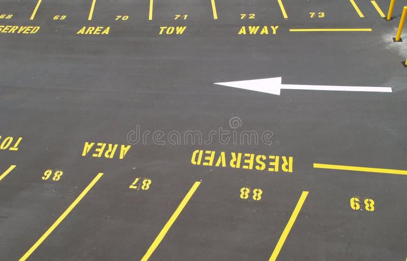 udziału parking obrazy royalty free