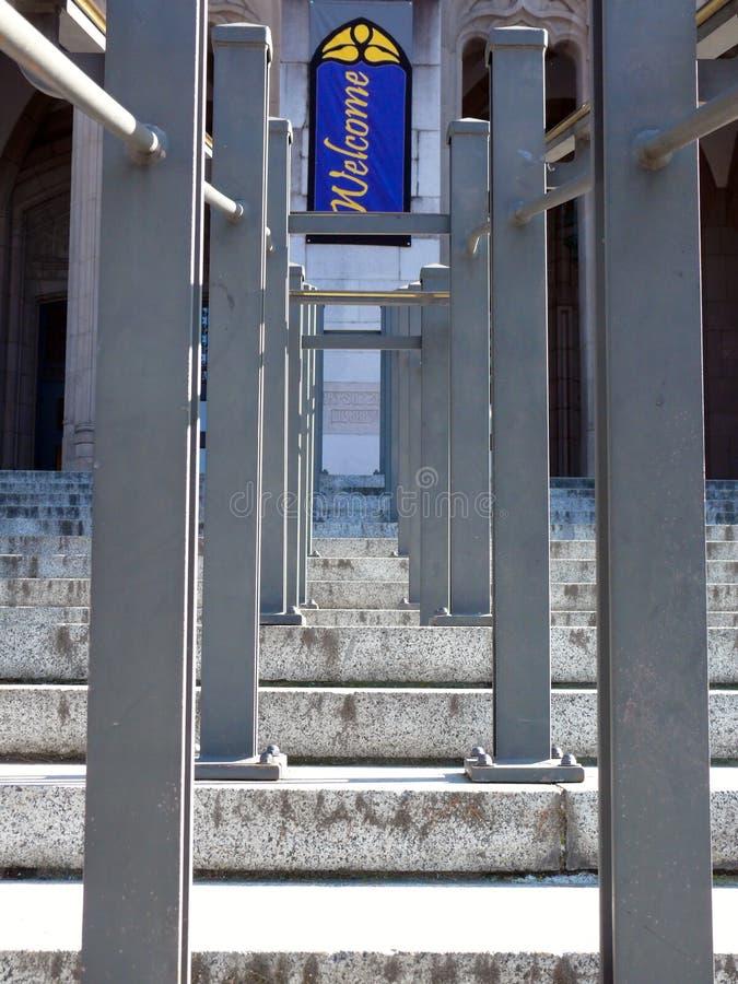 udziału schody symetria zdjęcia stock