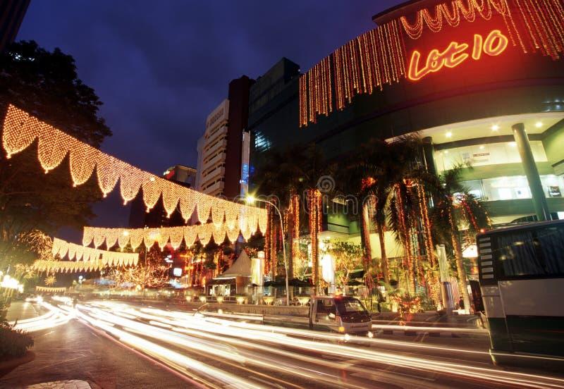 Udziału 10 zakupy kompleks, Kuala Lumpur, Malezja obrazy stock
