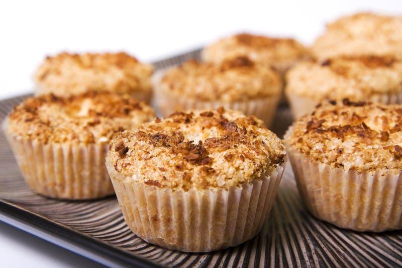 Kokosowi muffins zdjęcie royalty free