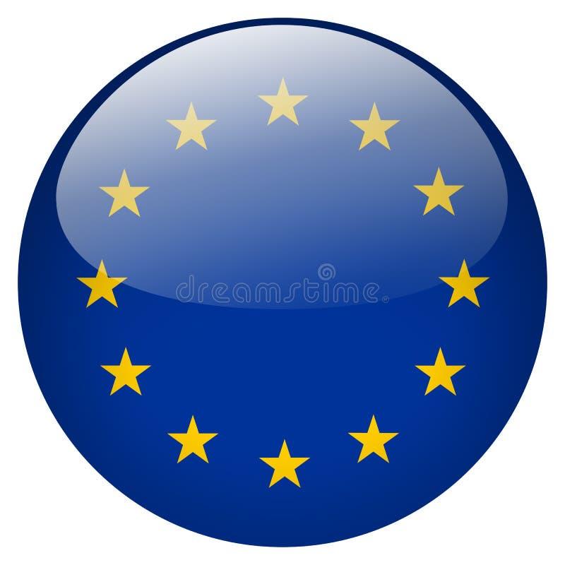 A UE abotoa-se ilustração do vetor