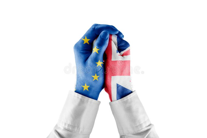 UE ogranicza Wielkiego Brytania przyrosta zdjęcia stock
