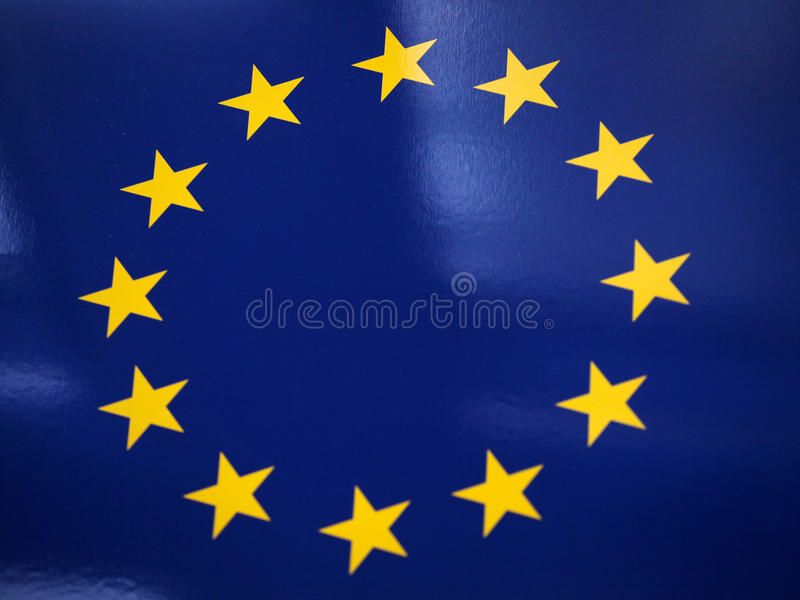UE zaznacza. zdjęcia stock