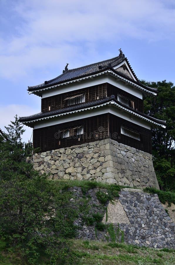 Ueda castle stock photos