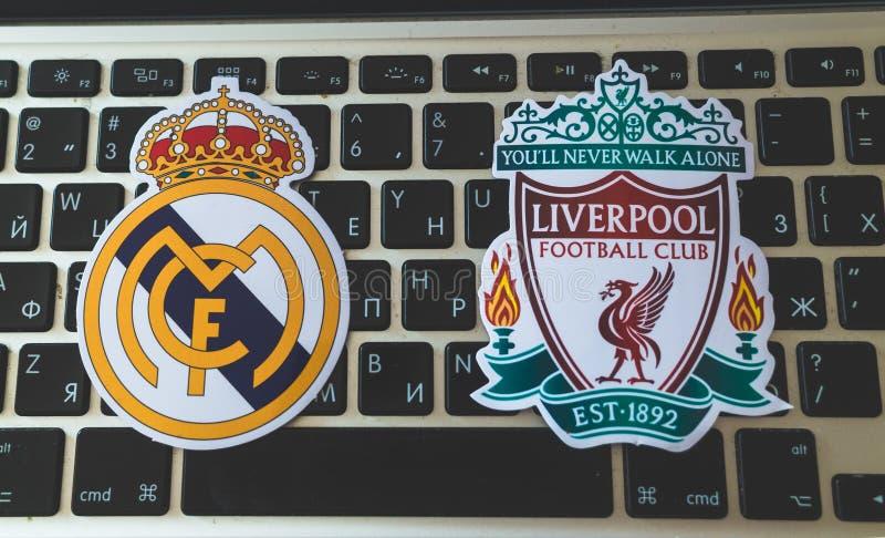 UEFA拥护同盟 免版税图库摄影