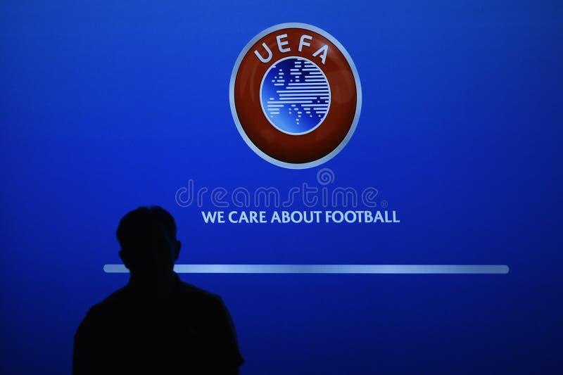 UEFA研讨会 免版税图库摄影