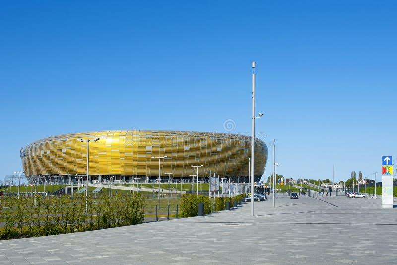 UEFA σταδίων του Γντανσκ του 2012 ευρο- στοκ φωτογραφίες με δικαίωμα ελεύθερης χρήσης