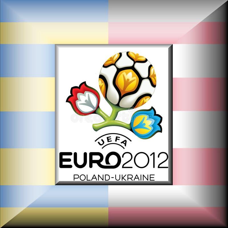 uefa евро 2012 иллюстрация штока