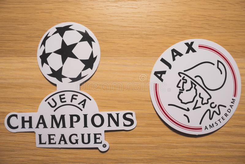 UEFA Champions League fotografia de stock royalty free