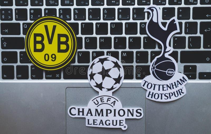 UEFA Champions League stockfotografie