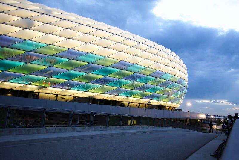 UEFA Champions League -- Allianz Arena stockfotografie