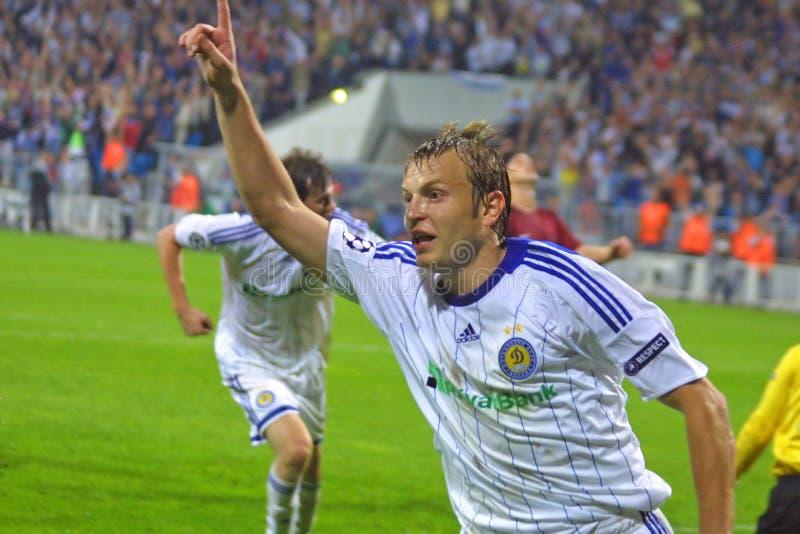 UEFA Champions League: Dynamo Kiev v Rubin Kazan stock photography