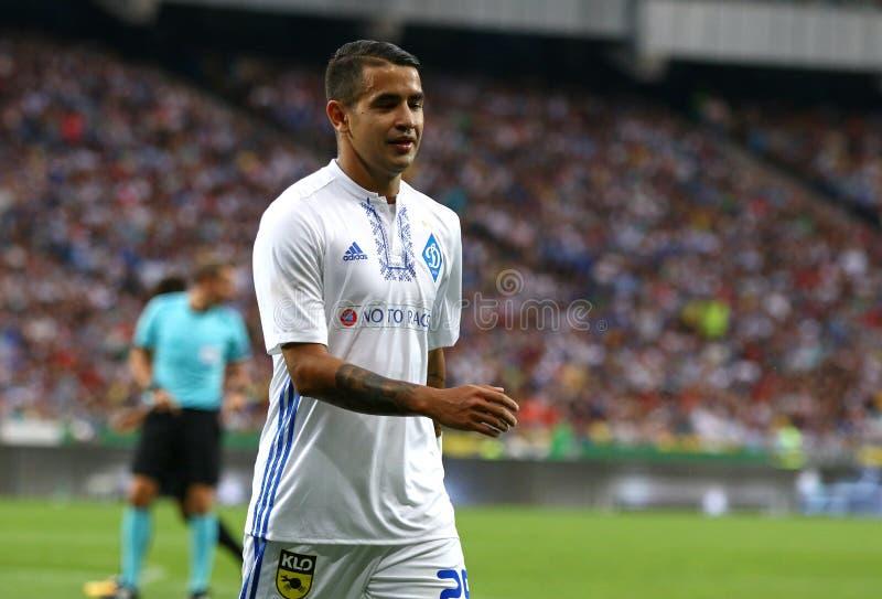 UEFA champions league: FC dynamo Kyiv v Young Boys zdjęcia royalty free
