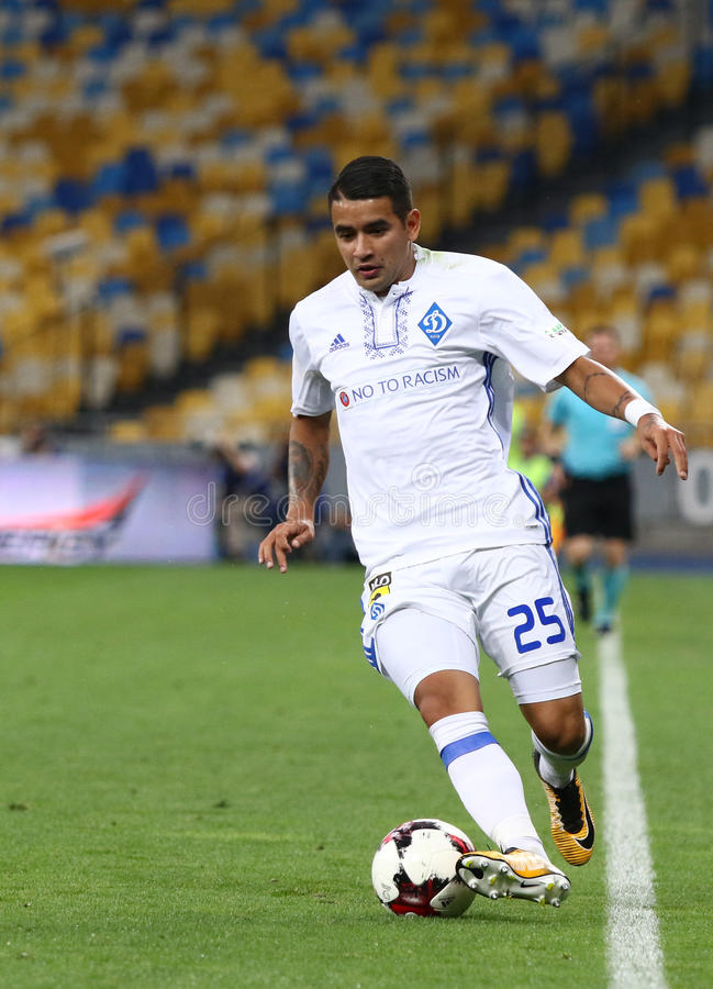 UEFA champions league: FC dynamo Kyiv v Young Boys obrazy royalty free