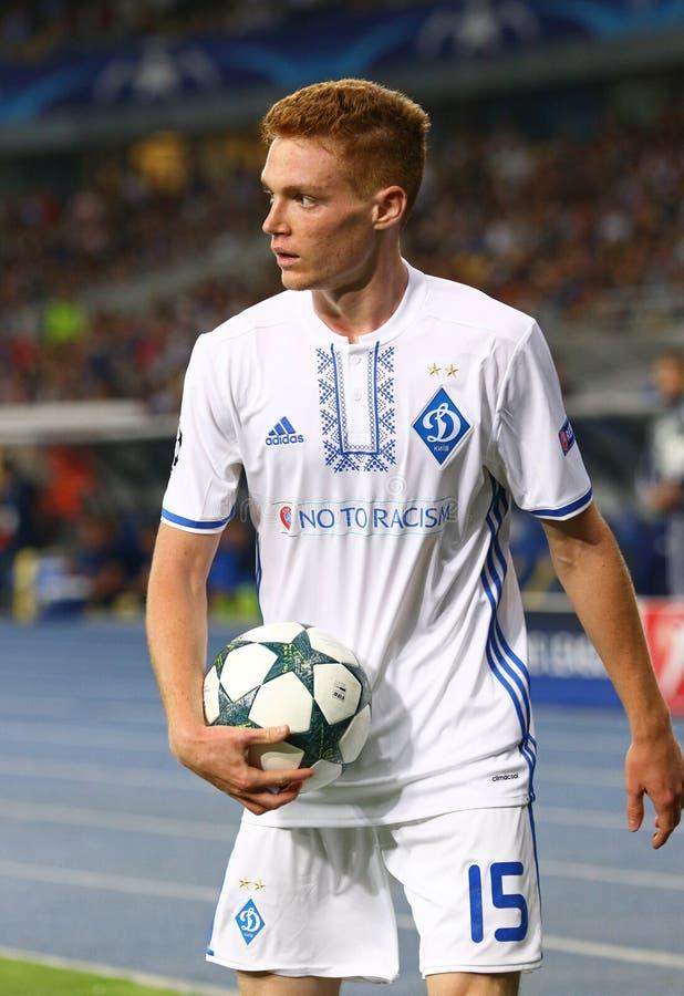 UEFA champions league FC gemowy dynamo Kyiv vs Napoli obrazy royalty free