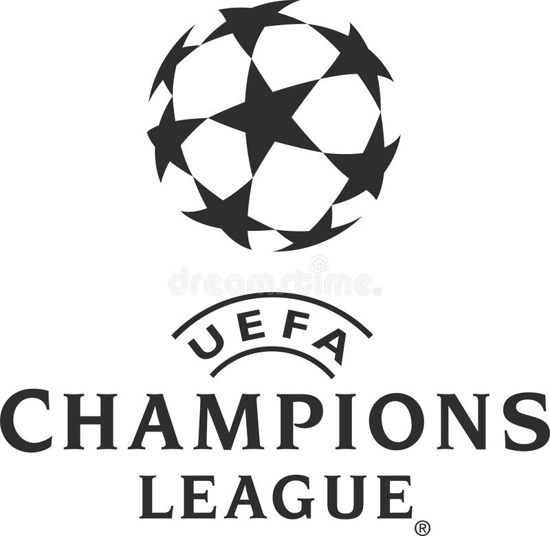 UEFA Champions League logo ikona ilustracji