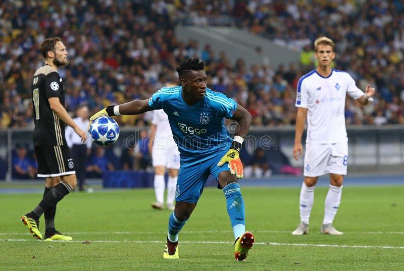 UEFA Champions League play-off: FC Dynamo Kyiv v Ajax royalty free stock photos