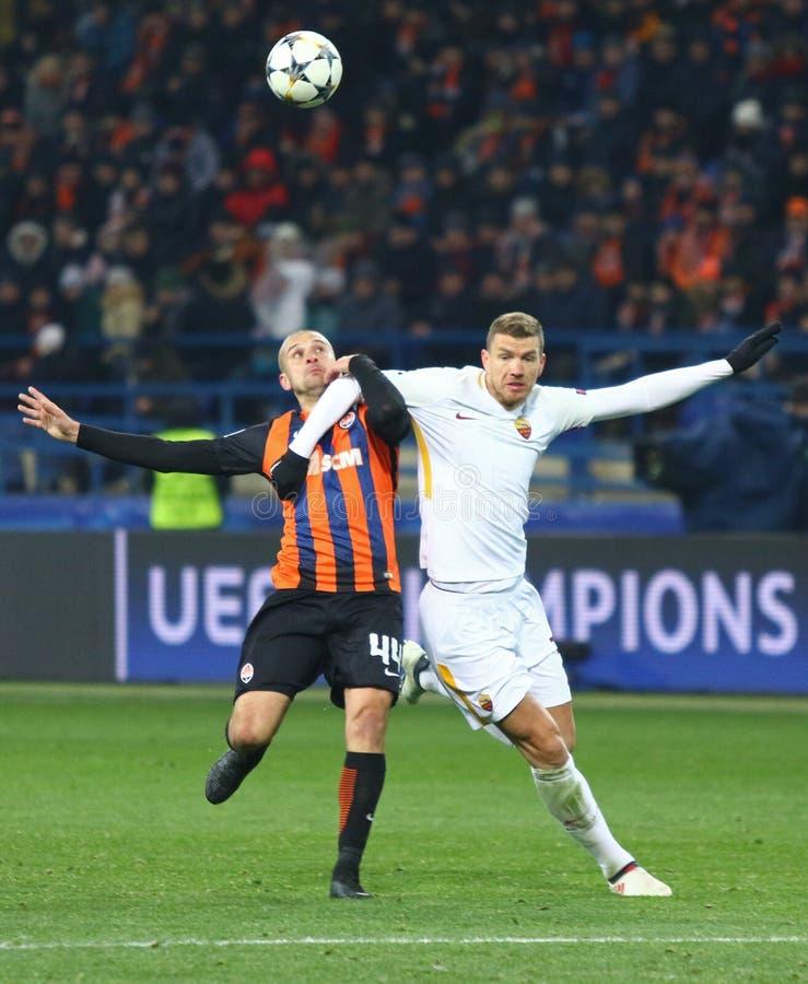 UEFA champions league: Shakhtar Donetsk v Roma obrazy royalty free