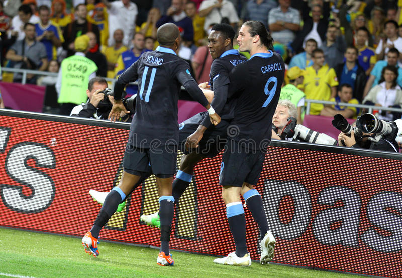 Download UEFA EURO 2012 Game Sweden Vs England Editorial Stock Photo - Image of carroll, people: 27353748