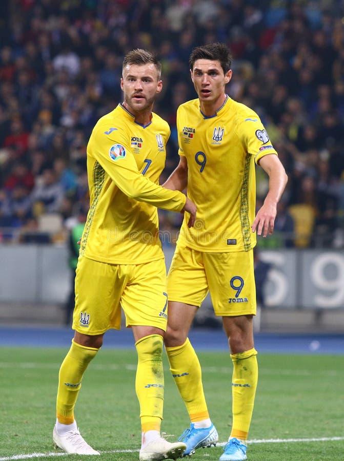 Free UEFA EURO 2020 Qualifying Round: Ukraine - Portugal Royalty Free Stock Photos - 161171948