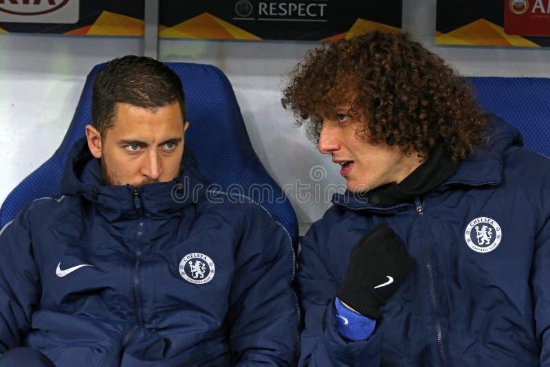 UEFA Europa League : Dynamo Kiev v Chelsea image stock