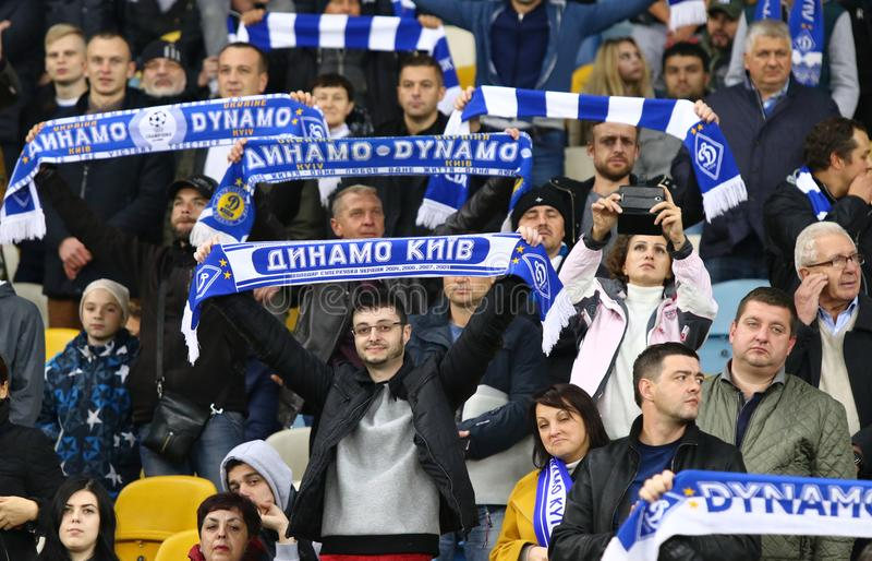 UEFA Europa League: FC Dynamo Kyiv v Young Boys stock photos