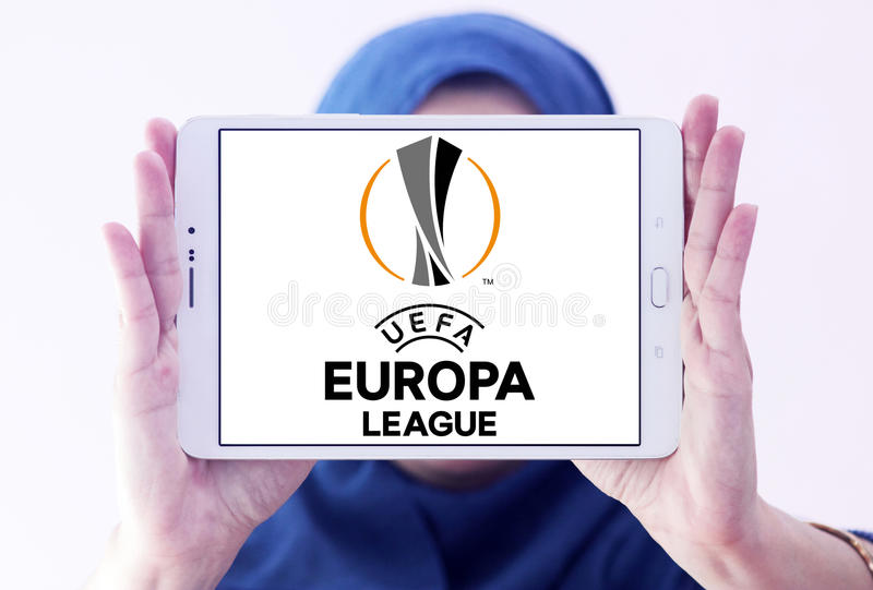 Uefa europa league logo stock photography