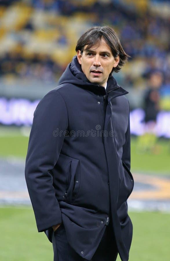 UEFA-Europa-Liga: FC Dynamo Kyiv V SS Lazio lizenzfreies stockbild
