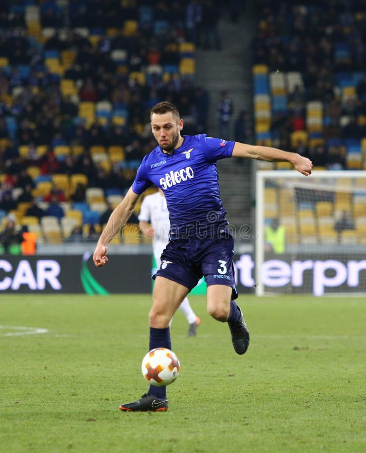 UEFA-Europa-Liga: FC Dynamo Kyiv V SS Lazio stockfotografie