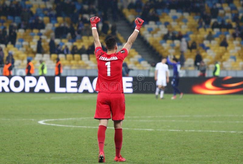UEFA-Europa-Liga: FC Dynamo Kyiv V SS Lazio lizenzfreies stockfoto